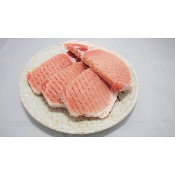 豚肉 豚ロースステーキ 10枚 【90〜110g】 約1kg  家計応援|nikunokinoshita|02