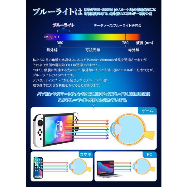 Nintendo Switch ガラスフィルム Switch Lite ガラスフィルム ニンテンドー スイッチ ブルーライトカット フィルム 液晶保護フィルム NIMASO nimaso 04