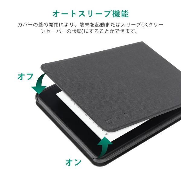 Nimaso Kindle Paperwhite ケース 全面保護 開閉式 スタンド式 オートスリープ機能 傷つけ防止 (2018秋Newモデル) 用 nimaso 03