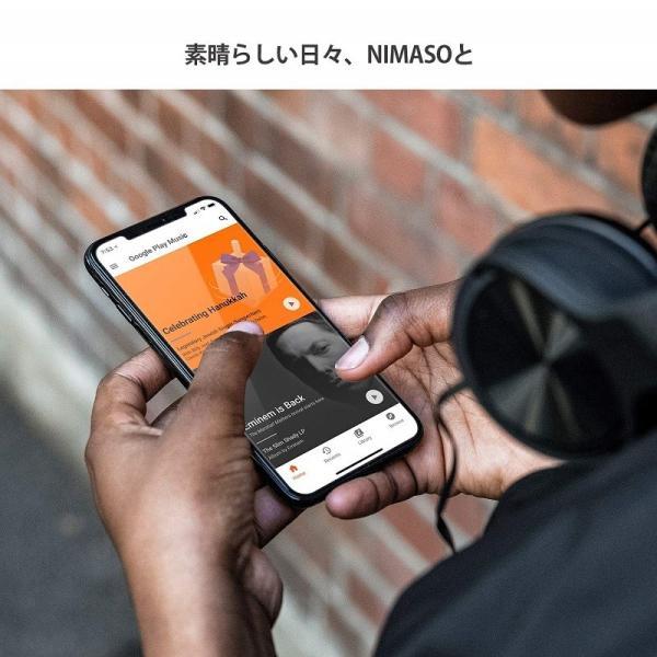 iPhone xr ガラスフィルム iPhone XsMax ガラスフィルム iPhone Xs iPhone X ガラスフィルム  3枚セッと 旭硝子製3D Touch対応/業界最高硬度9H/高透過率 Nimaso|nimaso|08