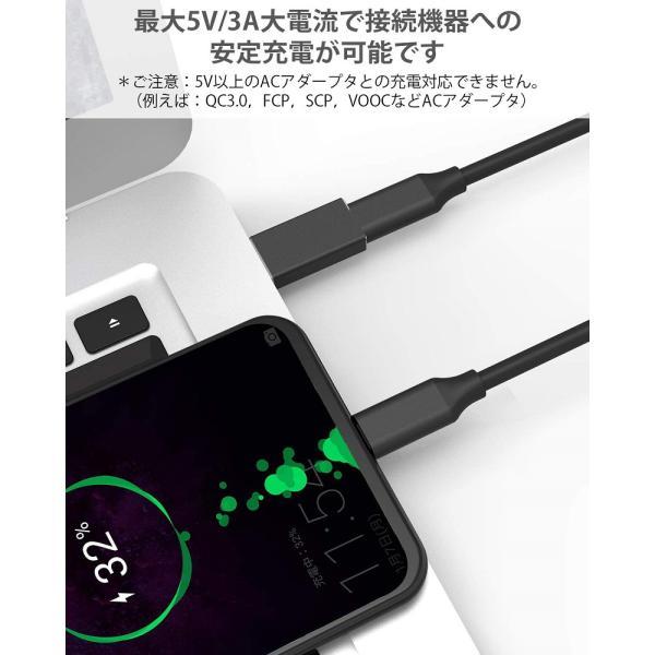 Type-C to USB-A 変換アダプター 両面USB3.0 高速データ伝送 USB-A to Type-C 変換 小型 軽量 スマホ パソコン等対応  Nimaso|nimaso|06