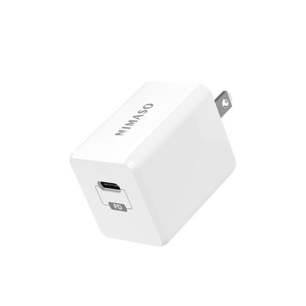USB C PD充電器 18W急速充電 折畳式プラグ iPad iPad Pro iPhone 11 11 Pro 11 Pro Max XS XS Max XR X Galaxy S10 S9 Xperia XZ1その他USB-C機器対応 Nimaso|nimaso