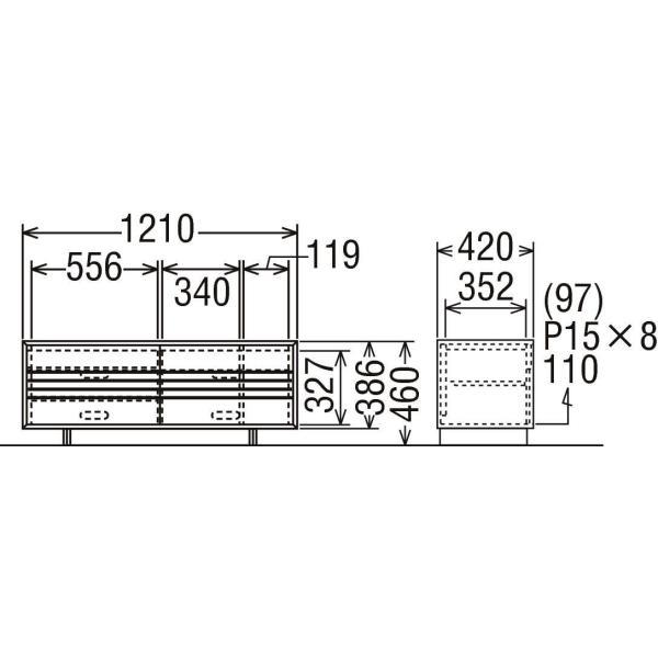 カリモク テレビボード SOLID BOARD ソリッドボード QT4017-A karimoku|nimus|05