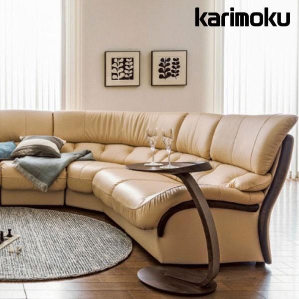 カリモク ソファ 3人掛 長椅子 ZT47モデル レザー 本革 ZT4753 karimoku nimus