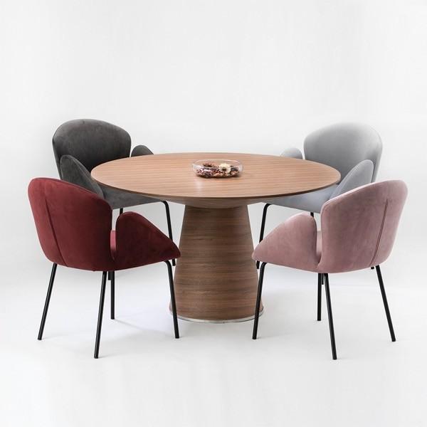 モーダエンカーサ ダイニングテーブル TEMPO テンポ ラウンド 円形テーブル moda en casa|nimus