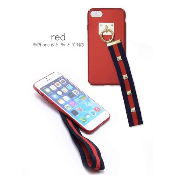 スマホケース アイフォンケース iphone8/7/6s/6対応 スタッズベルトiphoneケース|nina-happy-casual|02