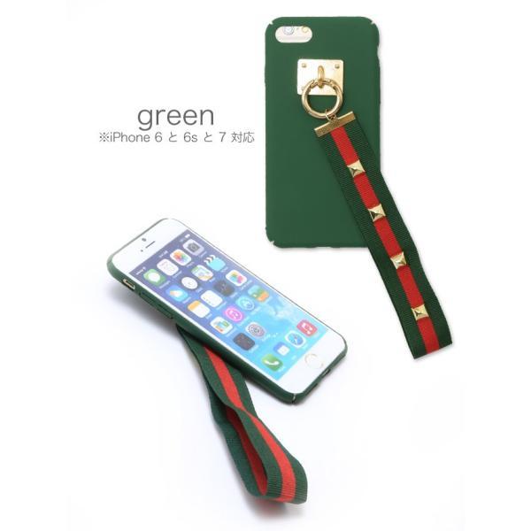 スマホケース アイフォンケース iphone8/7/6s/6対応 スタッズベルトiphoneケース|nina-happy-casual|03