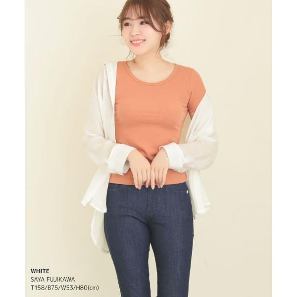 シャツ トップス レディース シンプル オーバーサイズ ガーゼシャツ(ホワイト/ベージュ/ブラック)春|nina-happy-casual|10