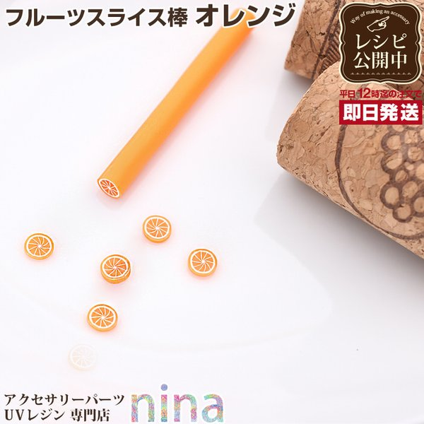 フルーツスライス棒 オレンジ|ninastore