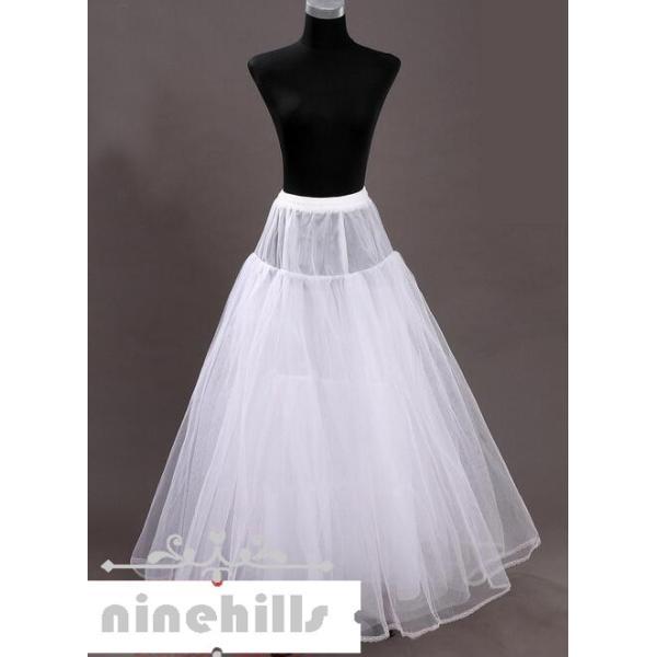 bfeef86bb9065 ... ワイヤーなし 大人ドレスワイヤーなしパニエ ウェディングドレス用 エンパイア Aライン 白 レディース ドレス ...