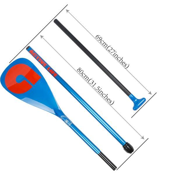 AKUA(アクア)カーボン パドル 3ピース for スタンドアップパドル ボード|ninehills|05