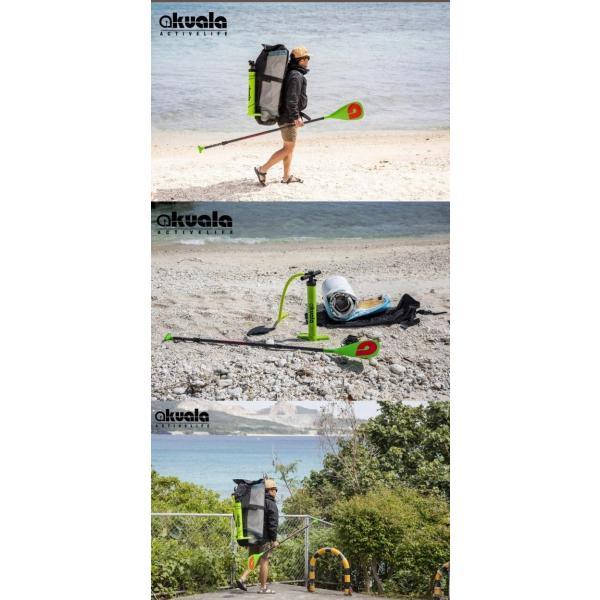 AKUALA(アクアラ) 【WINDRIDER CLASSIC】11'インフレータブル SUP サップ スタンドアップパドルボード セット ダブルレイヤー 高品質へのこだわり!|ninehills|09