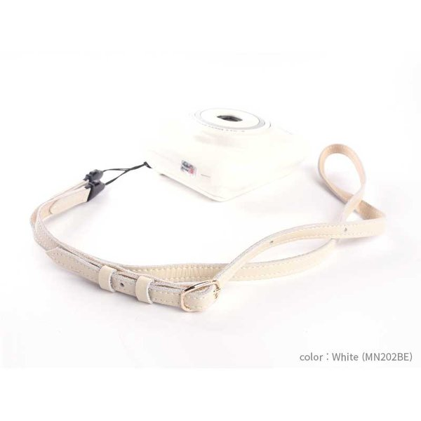 mi81 Leather Neck Strap MN202 5colors コンパクトカメラ用 レザー ネックストラップ 両吊り ヒモタイプ おしゃれ 本革 カメラストラップ 牛革 カメラ女子
