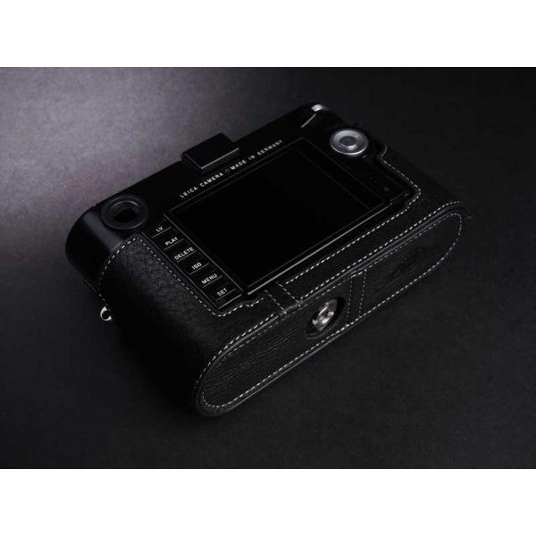 TP Original Leather Camera Body Case for Leica M (Typ 240/262/246)   Black ライカ 本革 レザー カメラケース EZ Series TB06M-BK