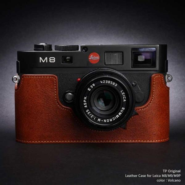 TP Original Leather Camera Body Case for Leica M8/M9/M9P Volcano ライカ 本革 レザー カメラケース Classic Series TB05M8-LB