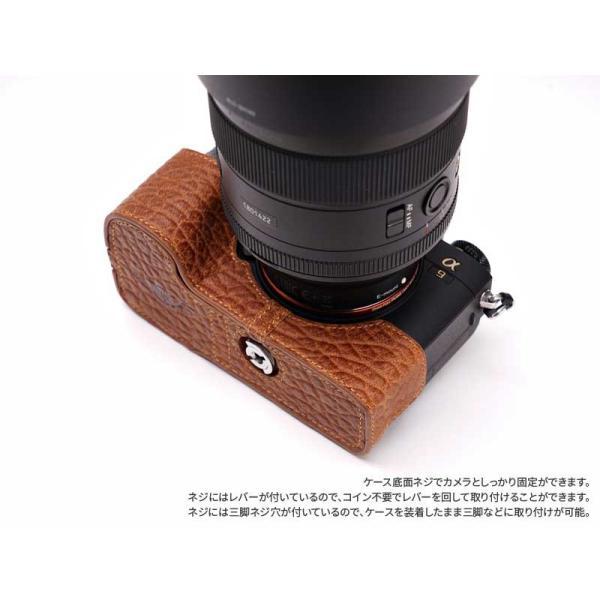 TP Original Leather Camera Body Case for SONY α9/α7RIII/α7III Elephant Brown ソニー A9 a9 本革 レザー カメラケース おしゃれ EZ Series TB08A9-EB