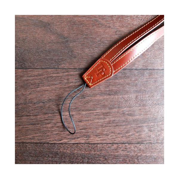 『クリックポストOK!』 TP Original V Leather Camera Neck Strap V型 本革カメラネックストラップ(ヒモタイプ) Oil Brown(オイル ブラウン)