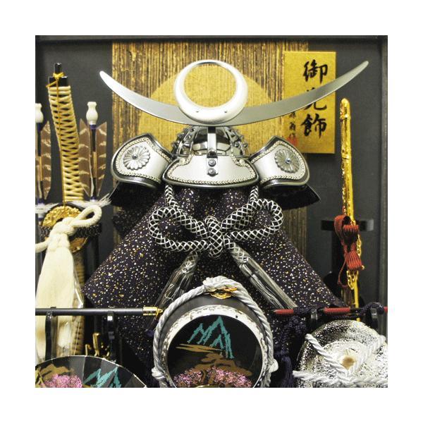 【送料無料】五月人形 オルゴールつき上杉謙信ケース飾り|ningyohonpo|03