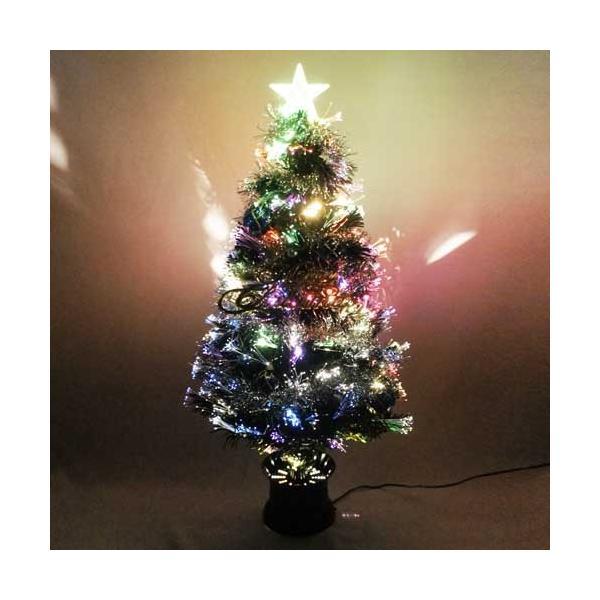 クリスマスツリー 北欧 90cmファイバーツリーセット 飾り ningyohonpo 05