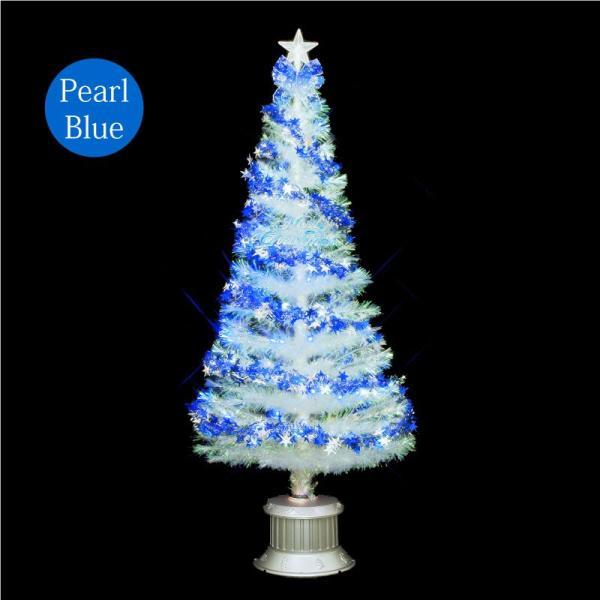 クリスマスツリー 北欧 【数量限定】クリスタルファイバーツリー150cm 飾り ningyohonpo 02