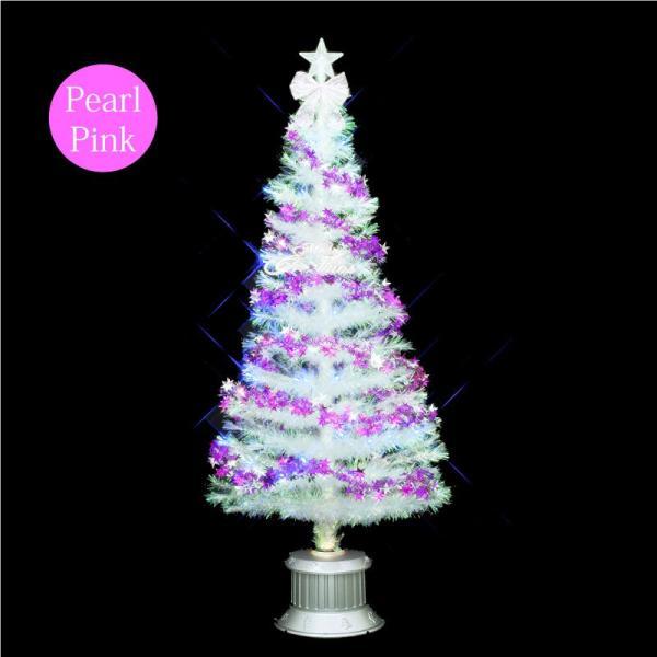クリスマスツリー 北欧 【数量限定】クリスタルファイバーツリー150cm 飾り ningyohonpo 03