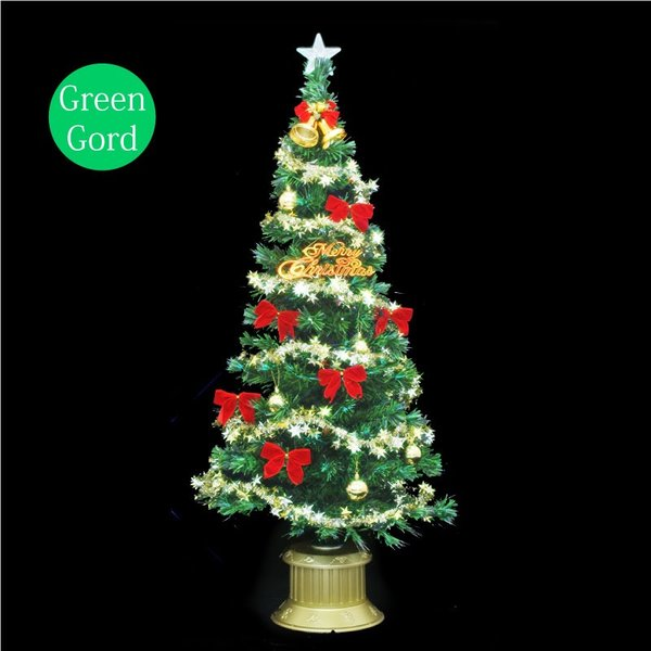 クリスマスツリー 北欧 【数量限定】クリスタルファイバーツリー150cm 飾り ningyohonpo 04