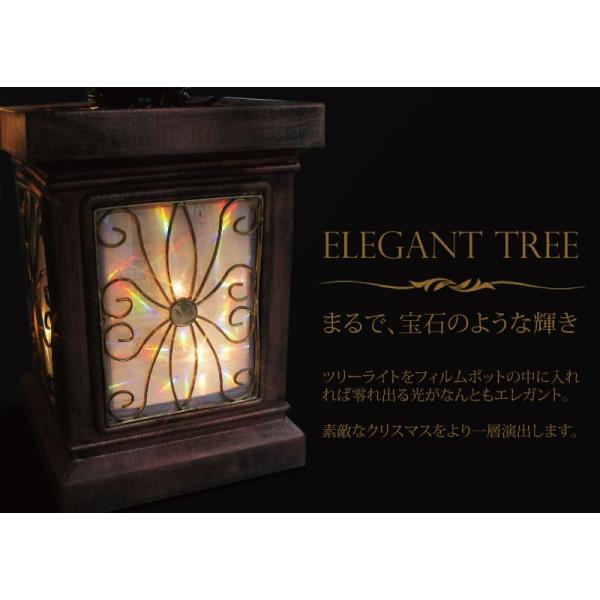 クリスマスツリー 北欧 フィルムポットスリムツリー150cm 選べるツリータイプ 飾り|ningyohonpo|06