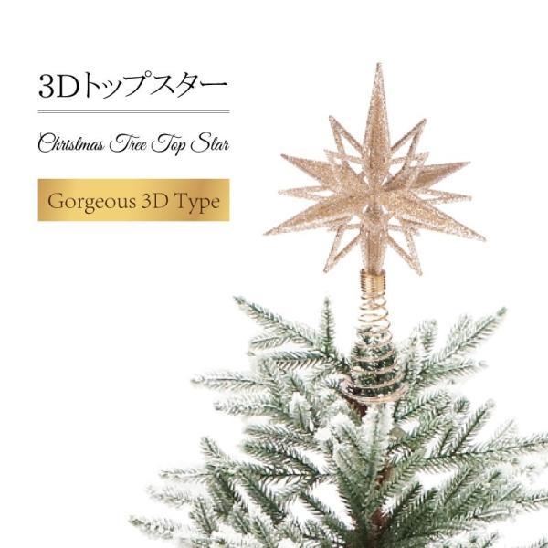 【ゾロ目クーポン】クリスマスツリー 北欧 オーナメント トップスター 飾り|ningyohonpo