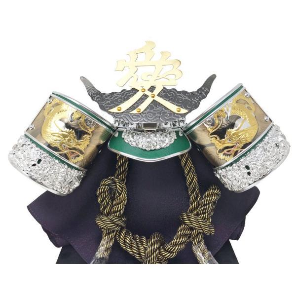 五月人形 コンパクト 直江兼続 ケース飾り ningyohonpo 05