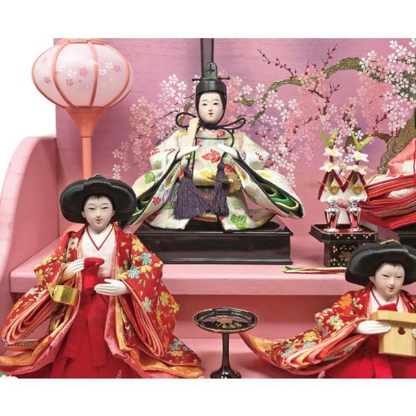 雛人形 ひな人形 焼桐三段飾り ningyohonpo 13