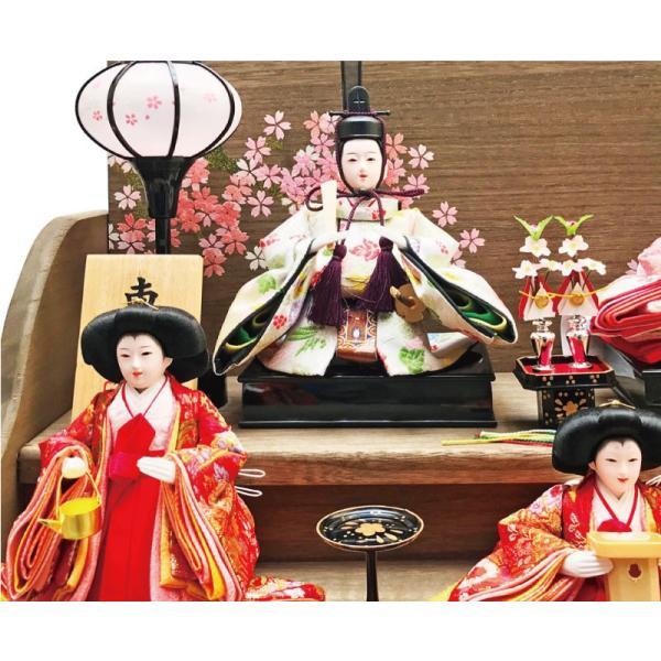 雛人形 ひな人形 焼桐三段飾り ningyohonpo 09