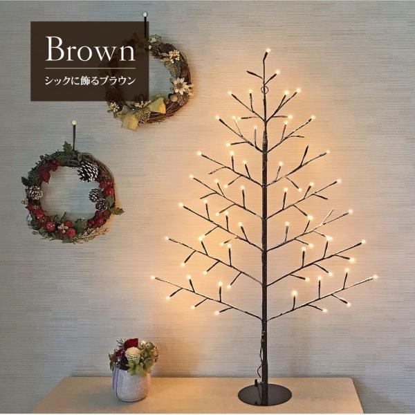 クリスマスツリー 90cm おしゃれ 北欧 タペストリー wall light tree 飾り|ningyohonpo|04