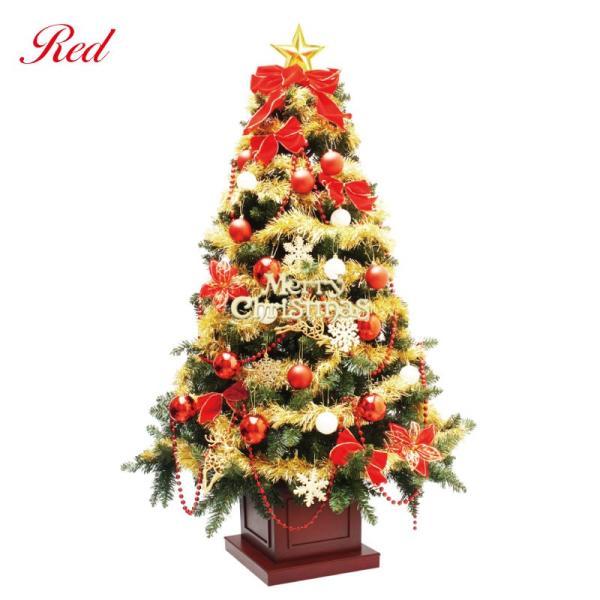 クリスマスツリー 北欧 ウッドベースツリーセット180cm 木製ポットツリー 飾り|ningyohonpo|02