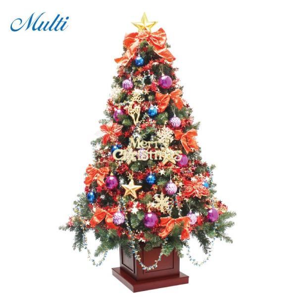クリスマスツリー 北欧 ウッドベースツリーセット180cm 木製ポットツリー 飾り|ningyohonpo|05