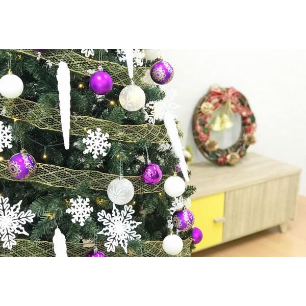 クリスマスツリー 120cm おしゃれ 北欧 Winter Fall ウッドベースツリーセット 飾り|ningyohonpo|12
