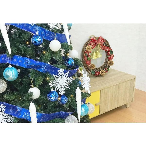 クリスマスツリー 120cm おしゃれ 北欧 Winter Fall ウッドベースツリーセット 飾り|ningyohonpo|14