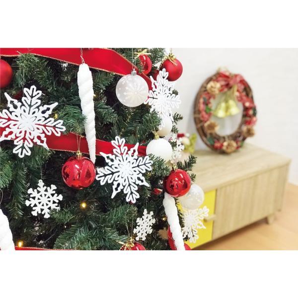 クリスマスツリー 120cm おしゃれ 北欧 Winter Fall ウッドベースツリーセット 飾り|ningyohonpo|04