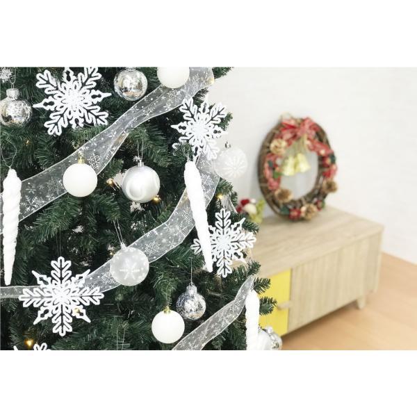 クリスマスツリー 120cm おしゃれ 北欧 Winter Fall ウッドベースツリーセット 飾り|ningyohonpo|08