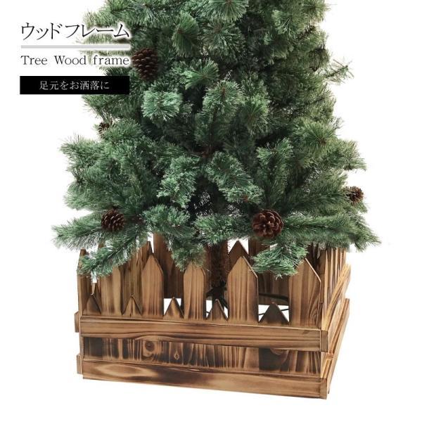 クリスマスツリー 北欧 木製フレーム 飾り|ningyohonpo