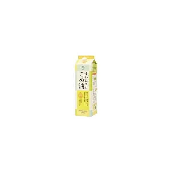 スーパービタミンE!国産原料!米油!まいにちのこめ油 三和油脂1500g