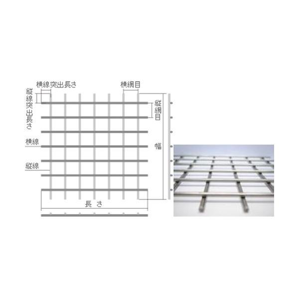 01)ステンレス SUS304 ファインメッシュ 溶接金網  線径:1.0mm 目開き:9mm 大きさ:巾1000mm×長さ1m|nippon-clever|02