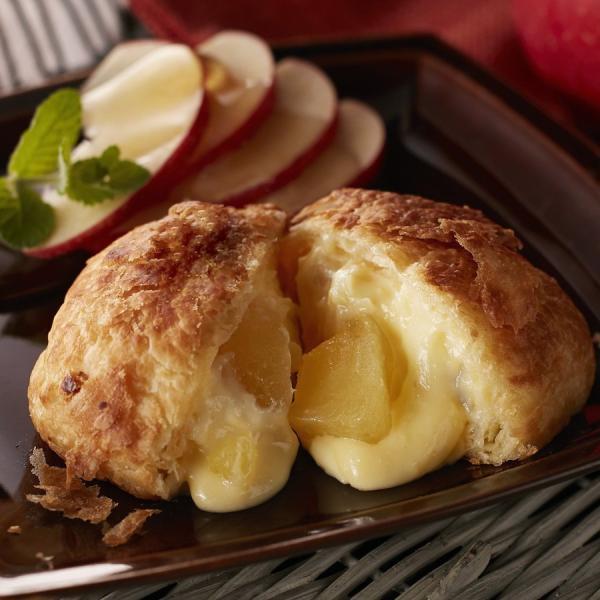 プレミアムフローズンくりーむパン デニッシュリンゴ 詰合せ 八天堂 冷凍 菓子パン スイーツ 洋菓子 八天堂のクリームパン