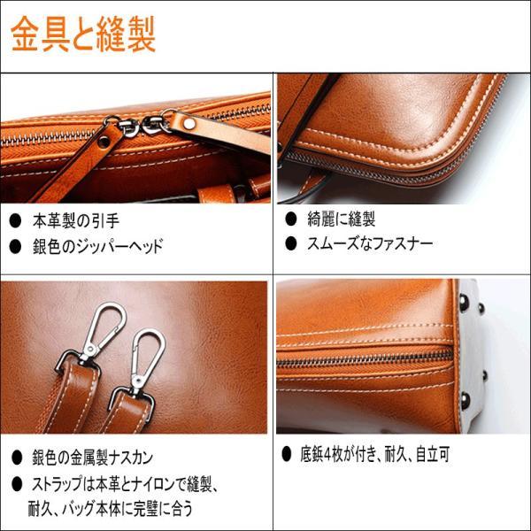バックパック 本革 レディース 軽量 アウトドア レザー デイパック リュックサック 2色 ブラック オレンジ アウトドア 手提げ 通勤鞄  底鋲付き 自立可