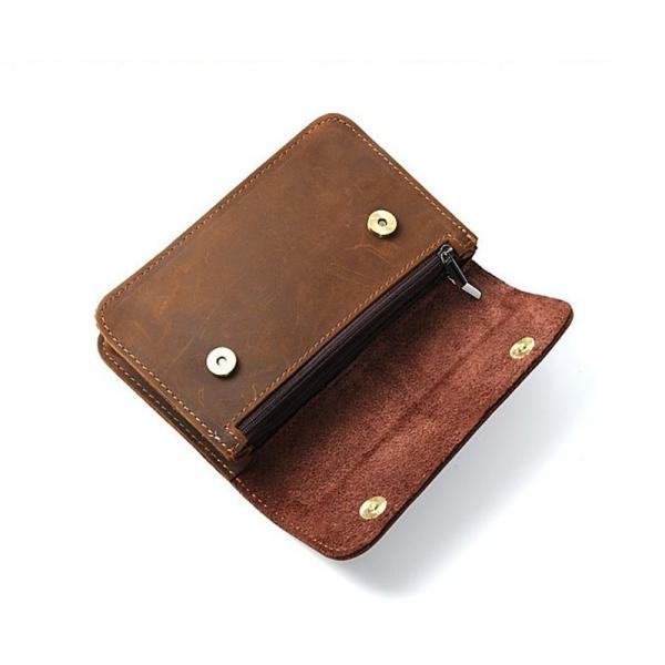 ウエストバッグ メンズ 本革 ウエストポーチ ベルトバッグ 財布 携帯、財布収納 財布 タバコケース ベルトポーチ ビンテージ