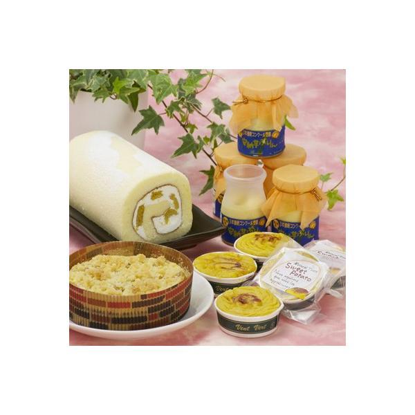 洋菓子 ロールケーキ お取り寄せ洋菓子 sweets 安納芋 プリン スイーツ セット 送料無料 ポイント消化