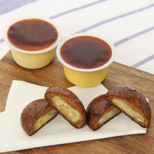 洋菓子 北海道 お取り寄せスイーツ sweets プリン かりんとう饅頭 4種セット えびすかぼちゃ 送料無料 ポイント消化