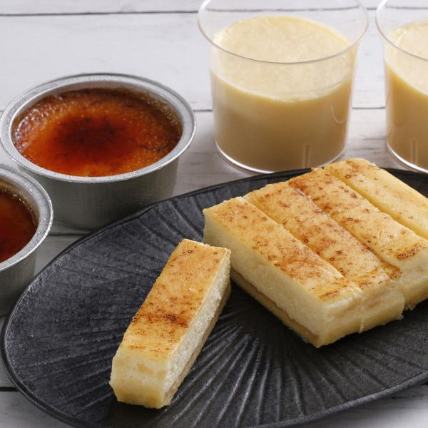 スイーツ 乳蔵 北海道 よくばりプリン セット 焼きプリン アイス 洋菓子 北海道プリン デザート