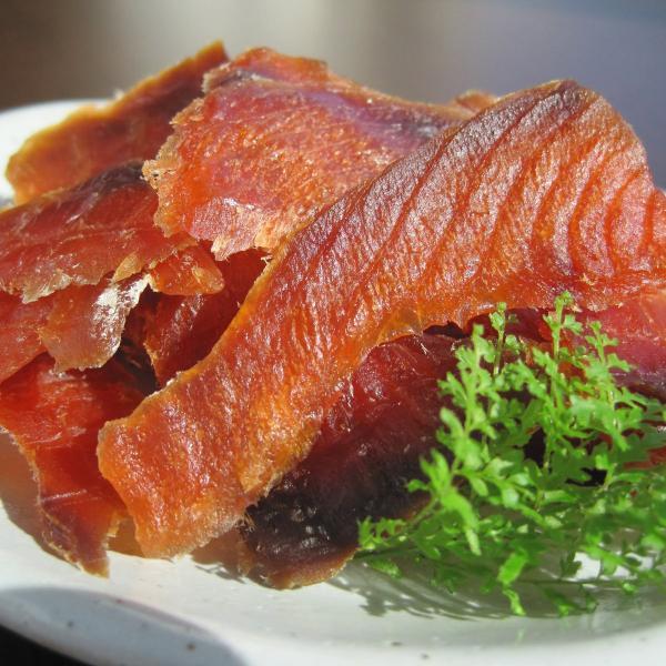 鮭とばスライス 2個入り 珍味 北海道産 ご当地グルメ おつまみ 江戸屋 干物 乾物 酒の肴 サケ 魚加工品 酒のつまみ