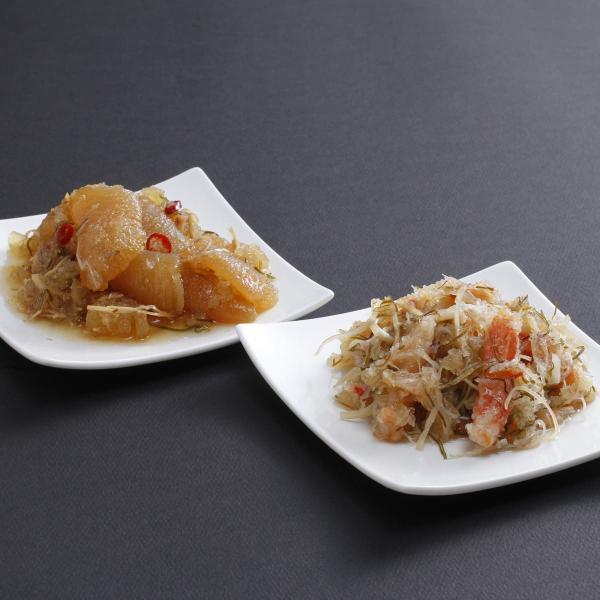 贅沢松前漬けセット 松前漬け 数の子 カニ入り 詰め合わせ かずのこ 北海道 海鮮 松前漬 醤油漬け 冷凍 総菜