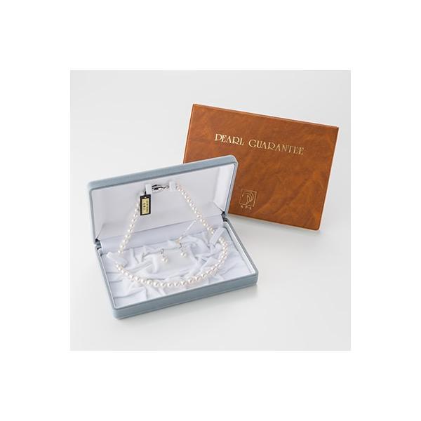 アコヤ真珠ネックレスイヤリングセット 三重ブランド認定 高品質な真珠と確かな技術 送料無料 ポイント消化